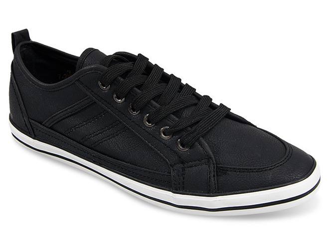 Beżowe sneakersy na grubej podeszwie Troy
