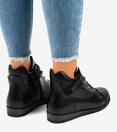 Białe buty sportowe damskie Olimpia