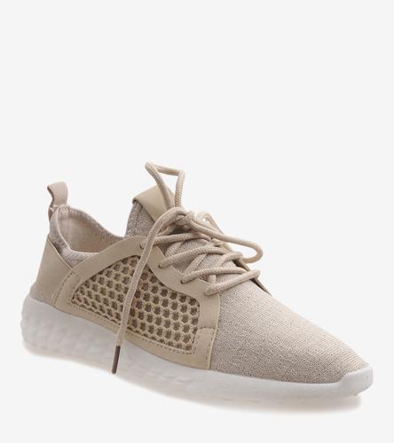 Granatowe sneakersy Sandi